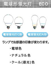 照明の選び方 電球形蛍光灯