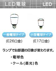照明の選び方 照明の選び方 LED電球