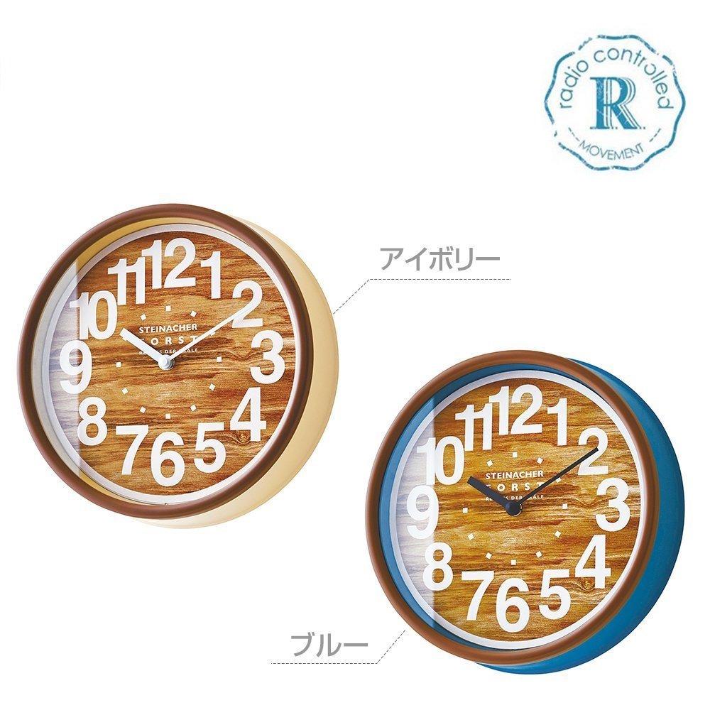 ジルニッツ WALL CLOCK 壁掛け時計 電波時計 Radio Controlled Clock