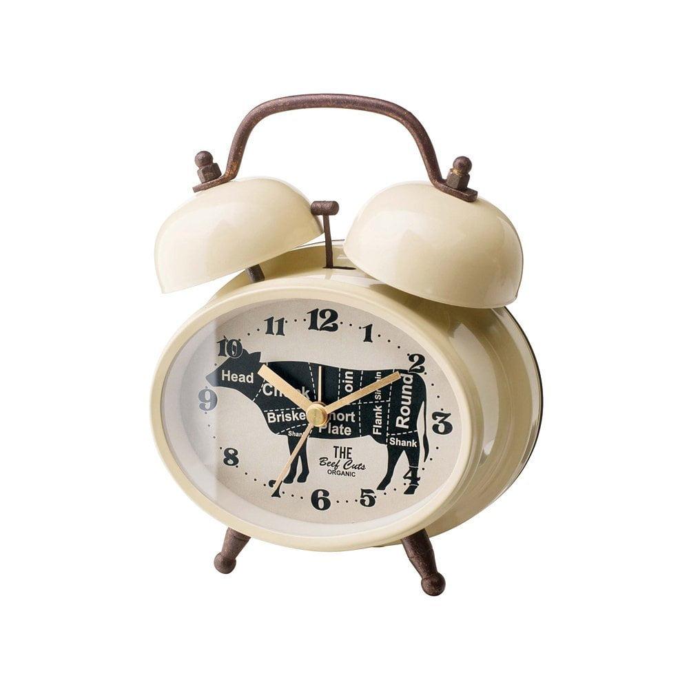 ミート カッツ ベル CLOCK 置き時計 目覚まし時計