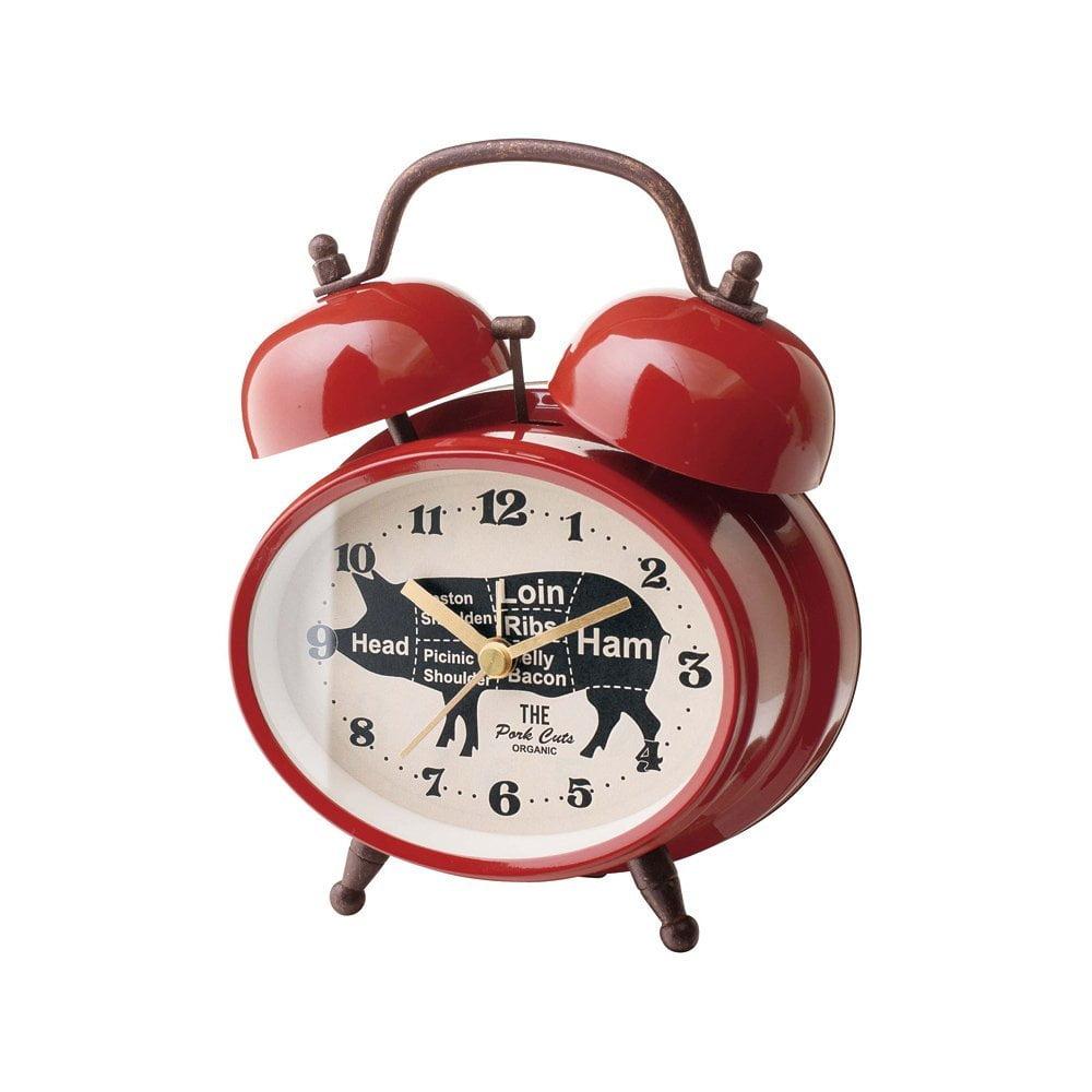 ミート カッツ ベルCLOCK 置き時計 目覚まし時計