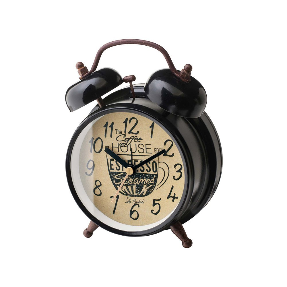CL-1475 Coffee Break コーヒー ブレイク Table CLOCK 置き時計 目覚まし時計