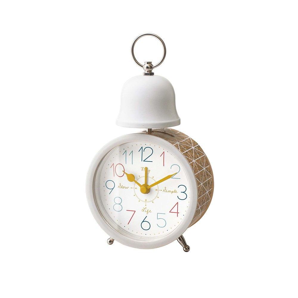 CL-1478 ラヴィア TABLE CLOCK 置き時計 目覚まし時計