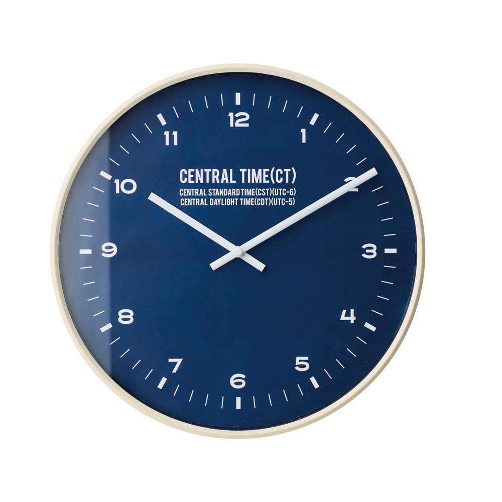 CL-1479 Central Time セントラル タイム 壁掛け時計 電波時計 RADIO CONTROLLED CLOCK