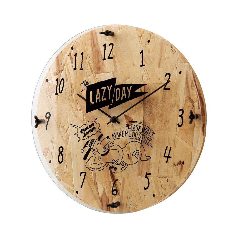 CL-1699 Holiday Clock ホリデークロック 壁掛け時計 静かな時計 スイープムーブメント