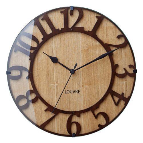 Musée -wood- ミュゼ -ウッド[ レビュー ] 壁掛け時計 電波時計