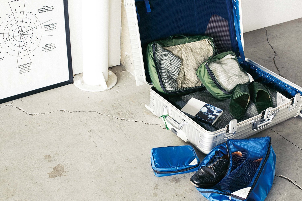 FL-1557 Vagrant ベイグラント Mサイズ パッキングバッグ トラベルケース