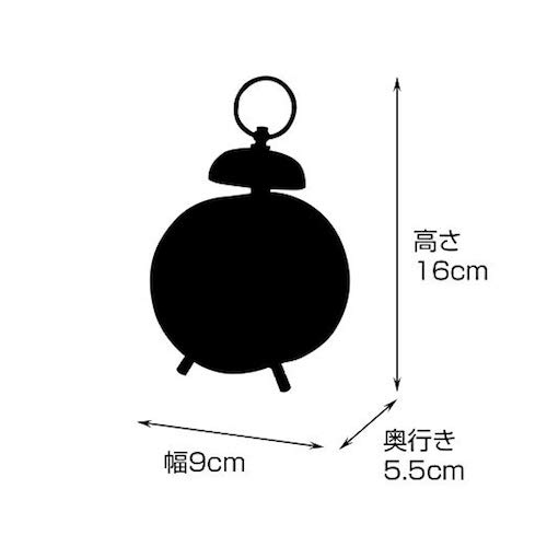 CL-3342 Himmel-Bell- ヒンメル TABLE CLOCK 置き時計 目覚まし時計