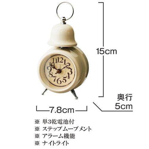 CL-7994 Orly オルリー TABLE CLOCK 置き時計 目覚まし時計