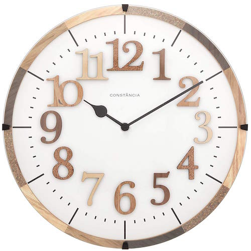 Tiel ティール WALL CLOCK 壁掛け時計 電波掛け時計