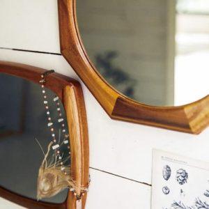 LW-3478 Lieve リーフェ square 鏡 姿見 壁掛け鏡 軽量