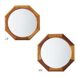LW-3479 リーフェ オクタゴン 鏡 姿見 壁掛け鏡 軽量