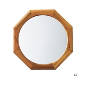 LW-3479 Lieve octagon リーフェ 鏡 姿見 壁掛け鏡 軽量