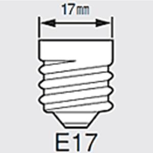 口金E17