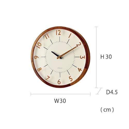 CL-3350 オラント WALL CLOCK 壁掛け時計 電波掛け時計 Radio Controlled Wall Clock