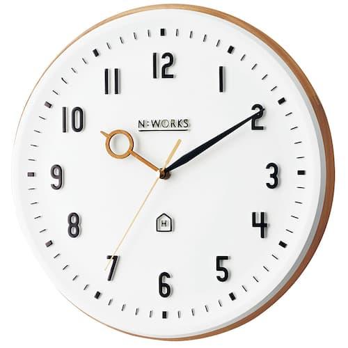 CL-3931 Kemppi ケンピ 壁掛け時計 静かな時計