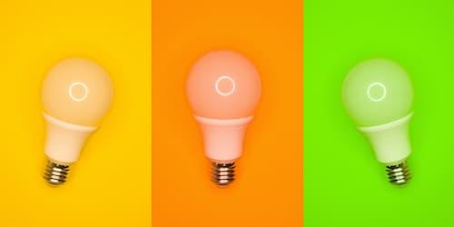 LED電球の寿命 は10年!でも、明るさは 徐々に減衰します